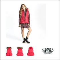 JUICY COUTURE(ジューシークチュール) キッズウェア JUICY COUTURE☆ RED PUFFER GILET