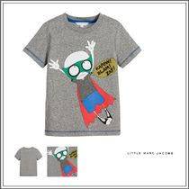 Little Marc Jacobs(リトルマークジェイコブス) キッズウェア LITTLE MARC JACOBS☆ GREY GREY COTTON T-SHIRT