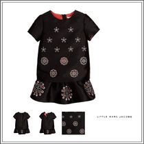 Little Marc Jacobs(リトルマークジェイコブス) キッズウェア LITTLE MARC JACOBS☆BLACK LAYERED SILK DRESS