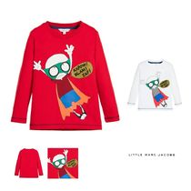 Little Marc Jacobs(リトルマークジェイコブス) キッズウェア LITTLE MARC JACOBS☆ RED MR MARC PRINTED COTTON TOP