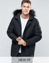 ASOS(エイソス) アウターその他 ASOS[関税込]Parka Jacket With Faux[新着多数]人気定番アウター