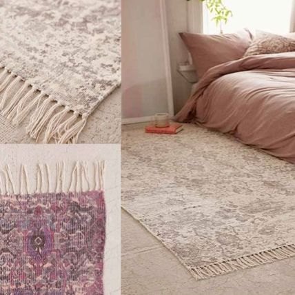 New UO * print rug size