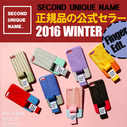 SECOND UNIQUE NAME iPhone・スマホケース 【NEW】「SECOND UNIQUE NAME」 2016 WINTER FINGER EDT. 正規品