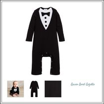 ベビーウェア・ロンパース LEMON LOVES LAYETTE☆ BLACK TUXEDO BABYGROW