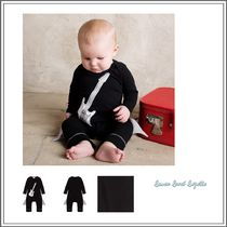 ベビーウェア・ロンパース LEMON LOVES LAYETTE☆ BLACK COTTON BABYGROW