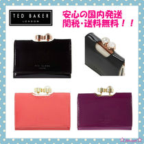 TED BAKER(テッドベイカー ) 折りたたみ財布 【関税・送料込】TED BAKER 2016-17AW 新作クリスタルがま口財布
