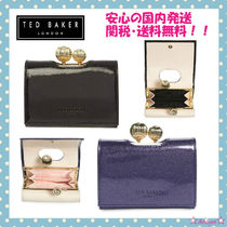 TED BAKER(テッドベイカー ) 折りたたみ財布 【関税・送料込】TED BAKER 2016-17AW ラメグリッターがま口財布