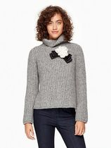 kate spade new york(ケイトスペード) ニット・セーター sale!kate spade/rosette bow alpaca sweater★セーター★