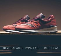 NEW BALANCE M997DTAG - RED CLAY レッド クレイ  USA製