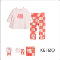 KENZO(ケンゾー) ベビーウェア・ロンパース KENZO☆ 2 PIECE PINK 'RESPECT & SMILE' LEGGINGS SET