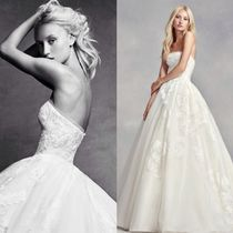 関税込&追跡便★Vera Wang Wang Strapless Tulle Wedding Dress