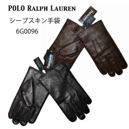 POLO RALPH LAUREN MEN'S Thinsulate sheep leather gloves