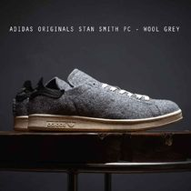ADIDAS ORIGINALS STAN SMITH PC - WOOL GREY あったかウール