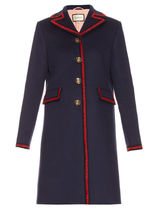 GUCCI★Single-breasted wool coat