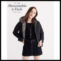 【Abercrombie & Fitch】アバクロ☆  COLOR BLOCK PUFFER JACKET