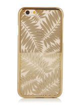 手もと在庫あり:SKINNYDIP・iPhone case:Gold Palm Case