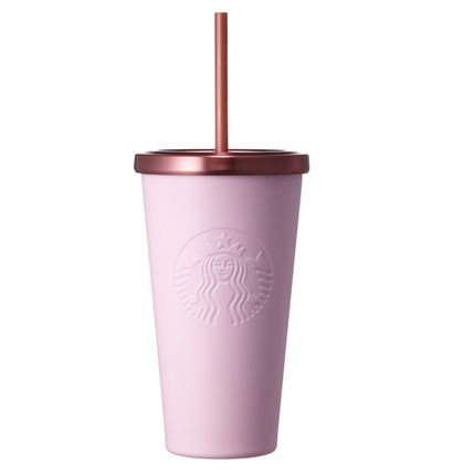 And Starbucks pink siren cold cups