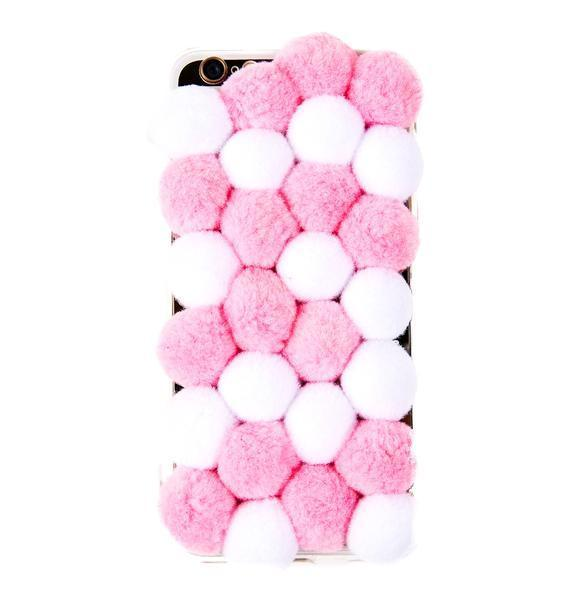 ☆日本未入荷☆新作DOLLS KILL*BABY POM POM IPHONE 6 CASE