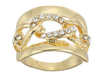 ★Guess ゲス★ Frozen Link Inside Band Ring   関税込★