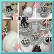 ☆fee mignon★Ma*Chouette 立体リボンボール バッグチャーム