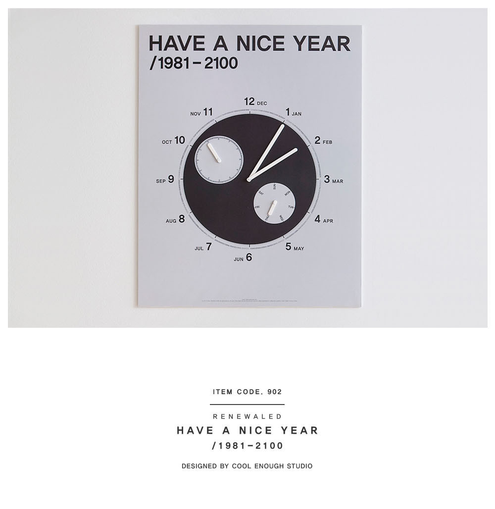 COOL ENOUGH STUDIO / HAVE A NICE YEAR/ 1981-2100