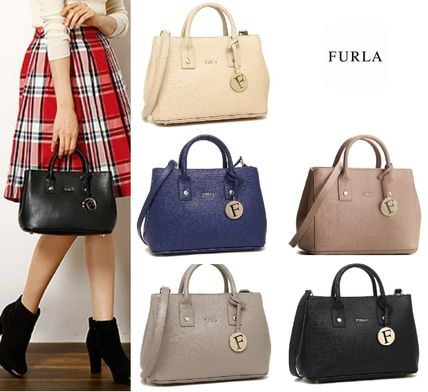 FURLA LINDA MINI TOTE 2WAY tote BHR 7: each color.