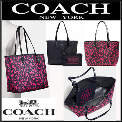 7fb46b0e8 Coach トートバッグ 【国内即発】COACH PRAIRIE CALICO REVERSIBLE CITY TOTE BAG ...