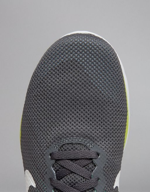 【関税送料込】Tr 6 Trainers In Grey And Volt Yellow☆