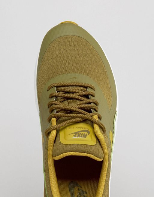 【関税送料込】Air Max Thea Trainers In Khaki☆