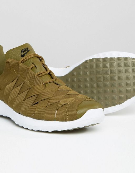 【関税送料込】Woven Juvenate Trainers In Khaki☆