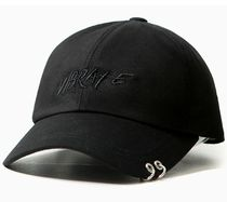 日本未入荷VIBRATEのEXO着用TWIN RING BRUSH LETTERING BALL CAP