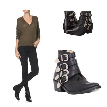 TOGA Western short boots /