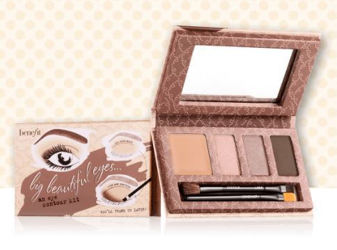 Benefit☆限定(big beautiful eyes eyeshadow palette)