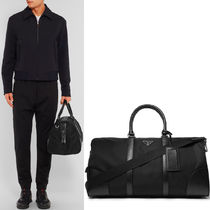 PR223 NYLON AND SAFFIANO WEEKEND HOLDALL
