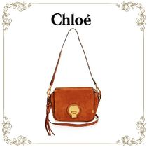 【大人気!!】★Chloe★Indy small suede cross-body bag
