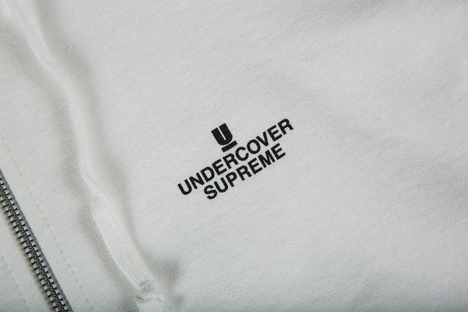 FW16 Supreme × UNDERCOVER FUCK YOU ZIP UP パーカー