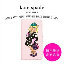 DISNEY MISS PIGGY APPLIQUE FOLIO IPHONE 7 CASEセール