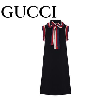 GUCCI Web detailed short dress