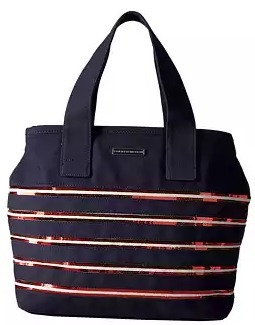 【Tommy Hilfiger】Canvas Flag トートバッグ☆関税・送料込☆