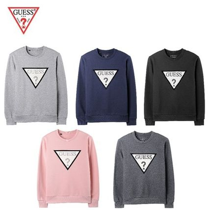 Guess Tシャツ・カットソー (Guess正規品) メンズUNI Fur きらきらロゴ T5色