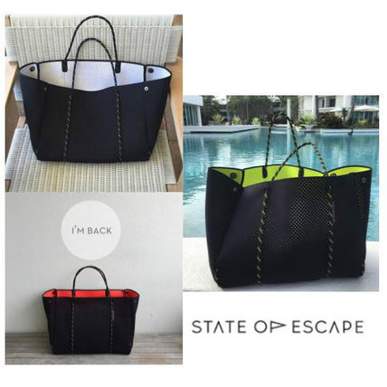 Only the State of Escape Ron Herman Black Dual color
