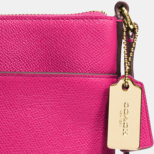 COACH★NORTH/SOUTH SWINGPACK EMBOSSED TEXTURED LEATHER 52348