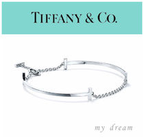NEW【Tiffany & Co】Tiffany T Double Smile Bracelet