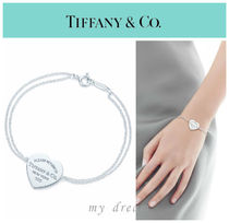 【Tiffany & Co】Return to Tiffany Heart Tag Bracelet Heart