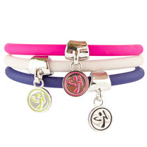 ZUMBA(ズンバ) アクセサリー 在庫有り/ZUMBA/ズンバ/Can't Touch This Charm Bracelet-3Pack