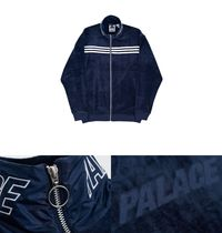 【送料無料】 ADIDAS PALACE VELOUR TRACK TOP NIGHT INDIGO