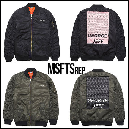 "Introducing ""MSFTSREP"" GEORGE JEFF MA1 bomber jacket /"