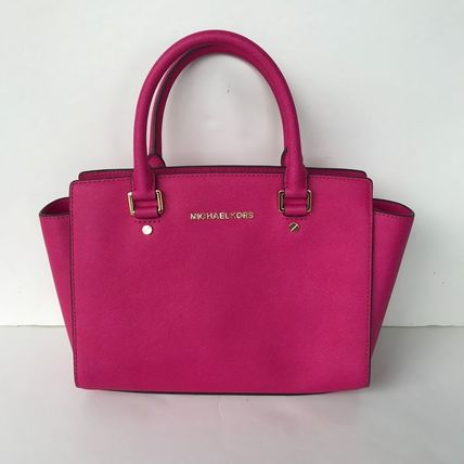Michael Kors ハンドバッグ 【超お買い得】Michael Kors★Selma Medium Satchel 2way*即発!(13)