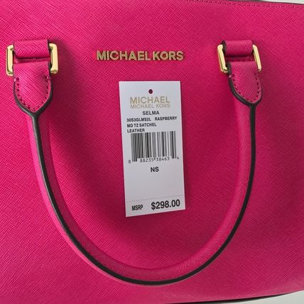 Michael Kors ハンドバッグ 【超お買い得】Michael Kors★Selma Medium Satchel 2way*即発!(18)