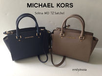 【超お買い得】Michael Kors★Selma Medium Satchel 2way*即発!